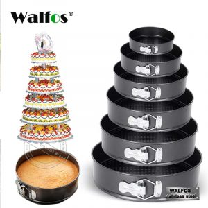 Non-stick Cake Mold With Removable Bottom